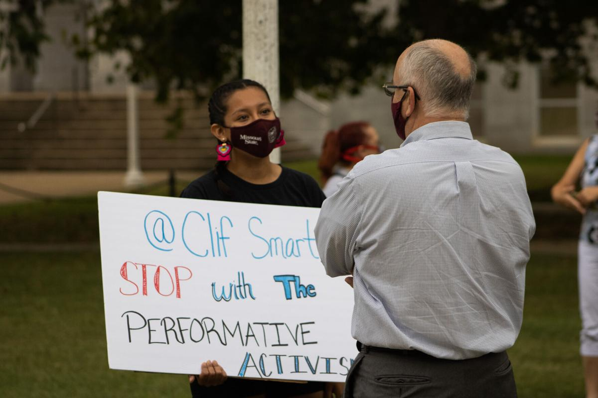 Multicultural Students Against Systemic Racism Protest - Clif Smart