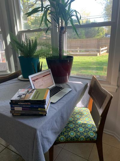 Holly Holladay work station