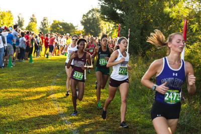 Erica Wollmering runs