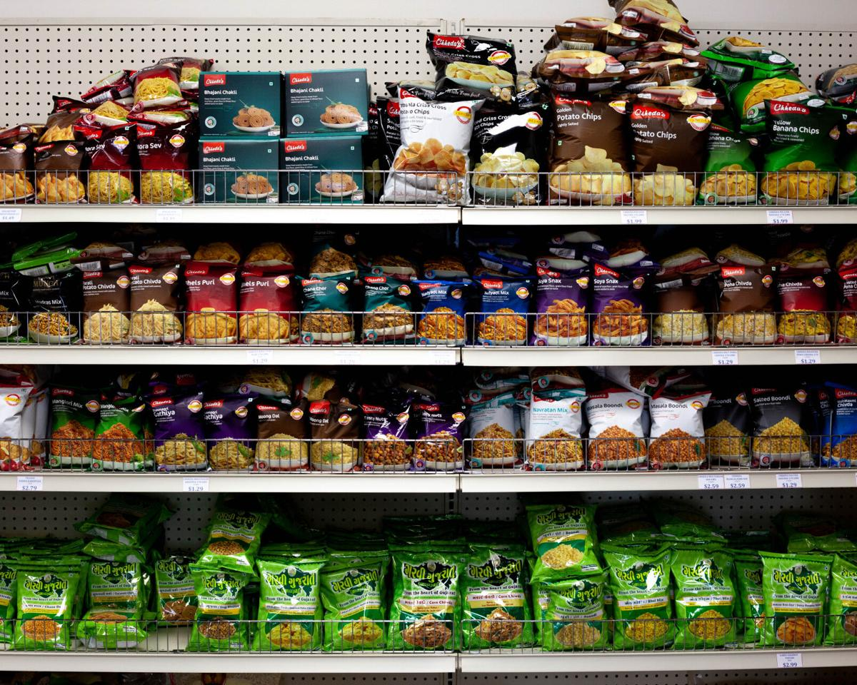 Bombay Bazaar shelf
