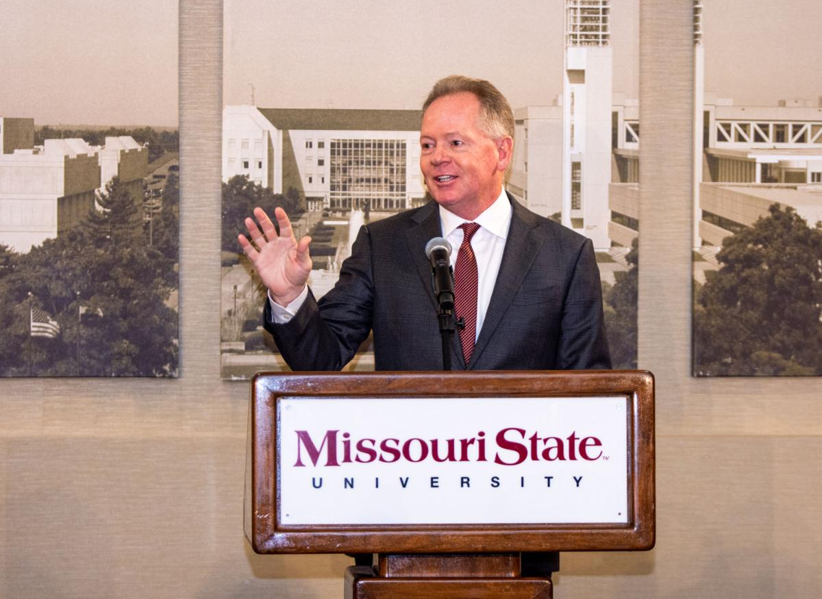 Bobby Petrino speaks at the press conference