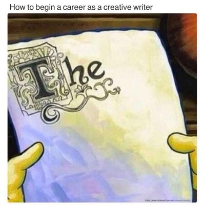 Creative Writing SpongeBob