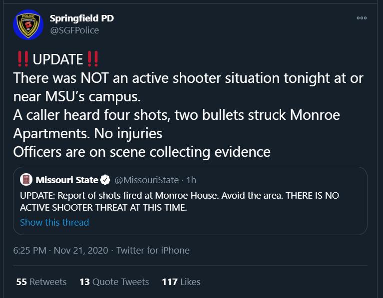 police department tweet