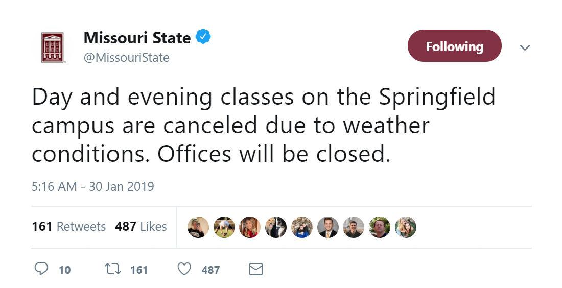 Classes canceled as temperature hits single digits | News