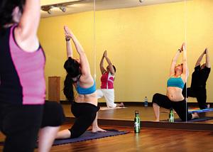 Sweat Stretch Away Stress With Hot Yoga