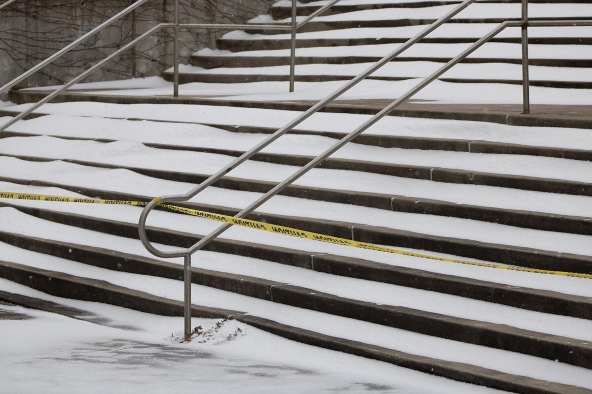 Snow PSU stairs