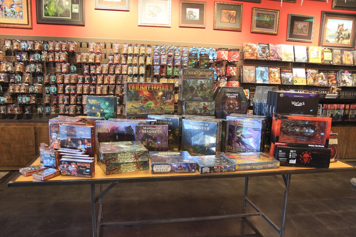 Meta games front table