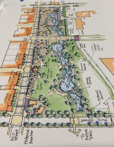 Artistic illustration of Jordan Creek project