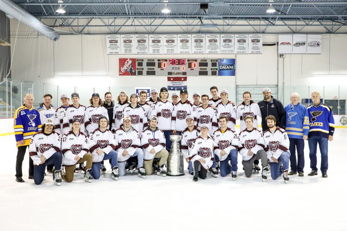 Ice Bears with Stanley Cup