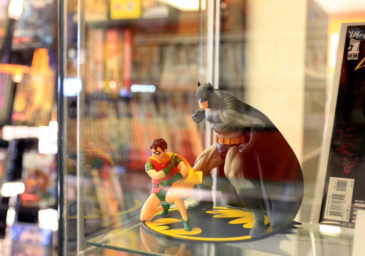 Nameless City figure display case