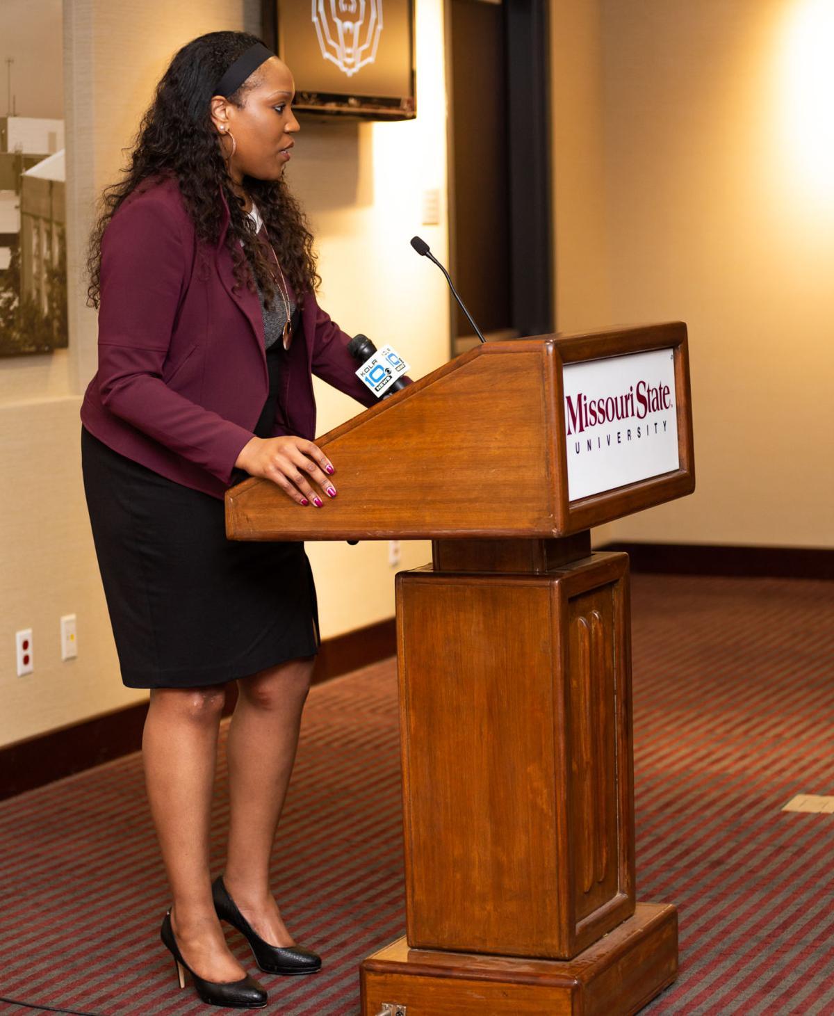 Amaka Agugua-Hamilton speaks