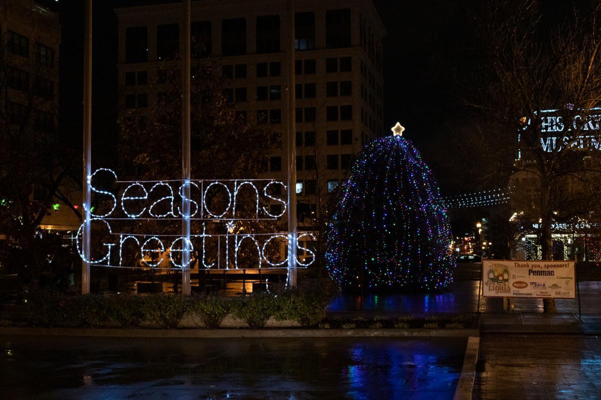 Tree Lighting square