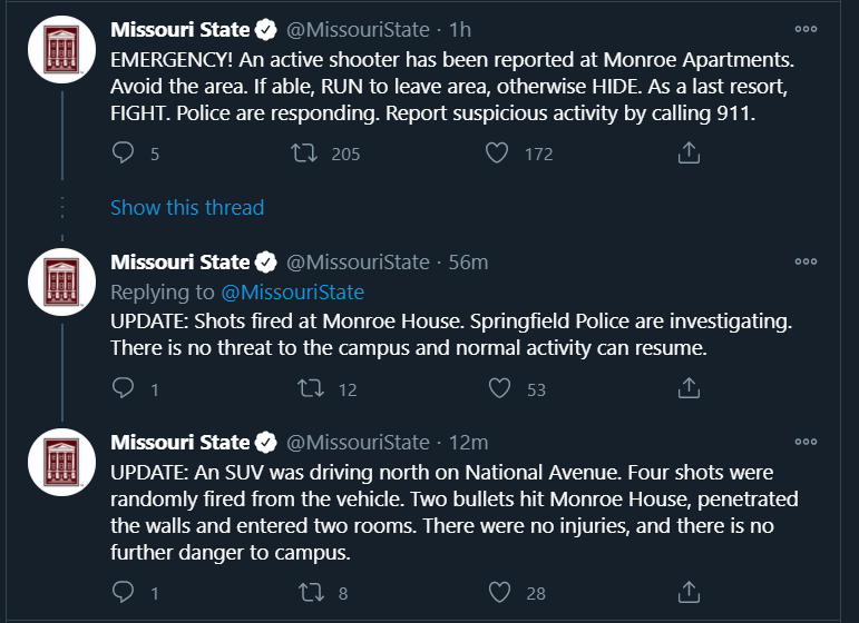 Shots fired in drive-by at Monroe Apartments on MSU campus ...