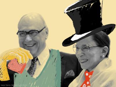 Ruth Bader Ginsburg and Marty Ginsburg