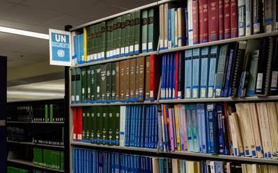 United Nations library