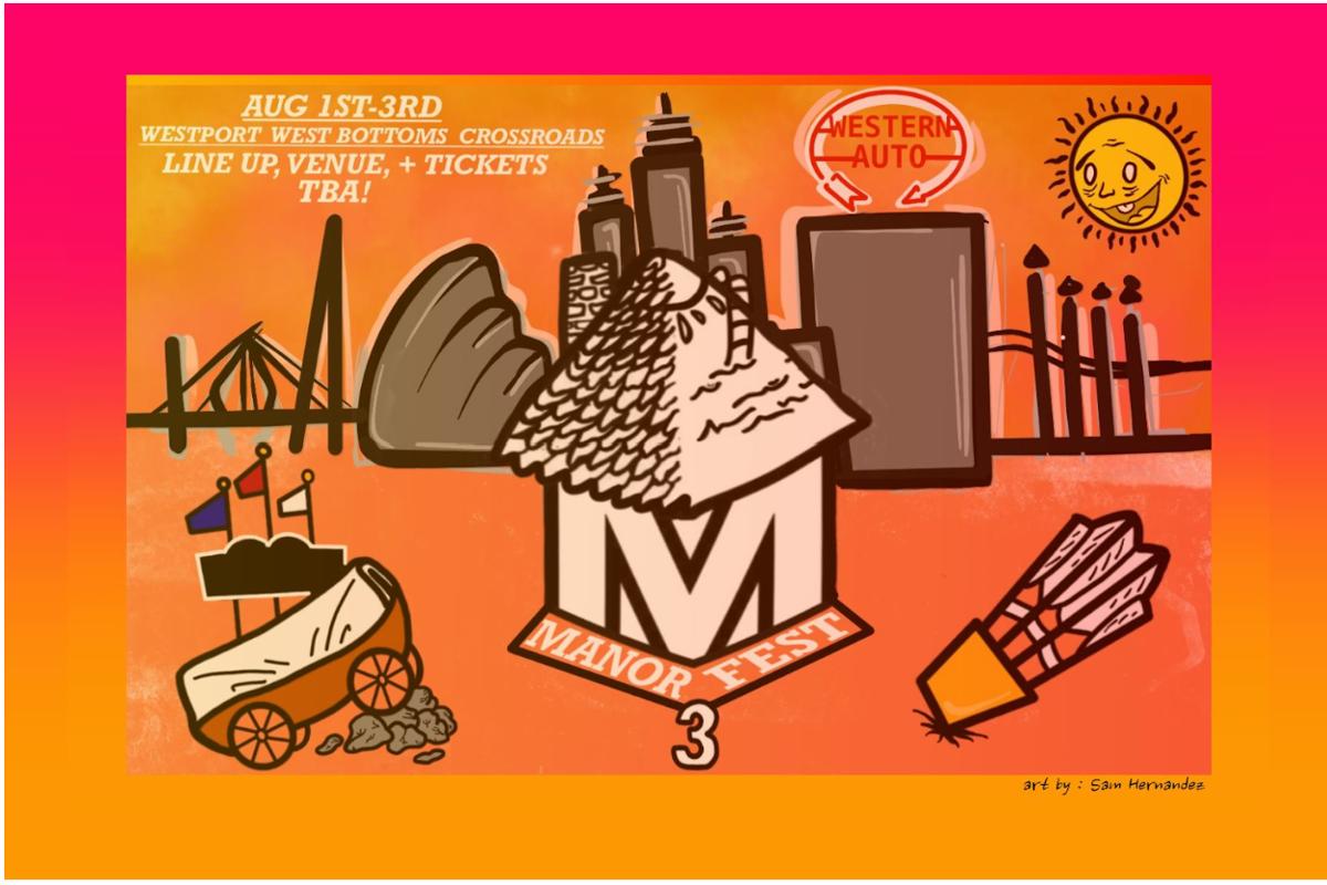 Manor Fest 2019 poster