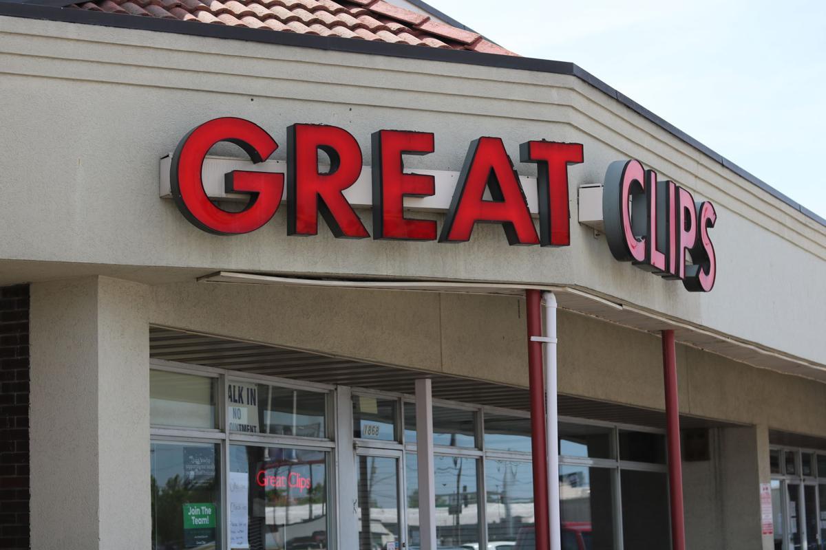 Great Clips salon on Glenstone Ave