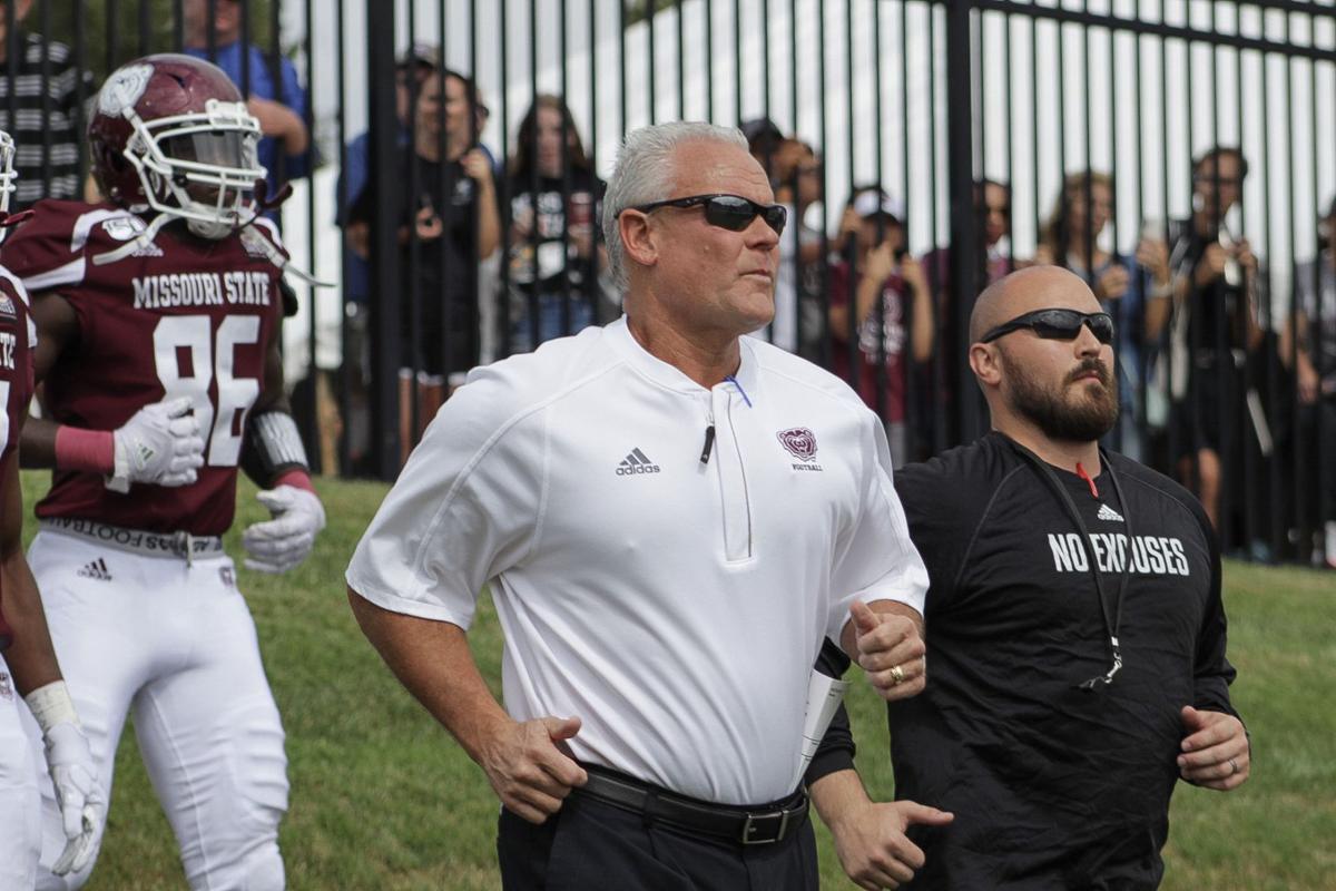 Head Coach Dave Steckel leads the Bears