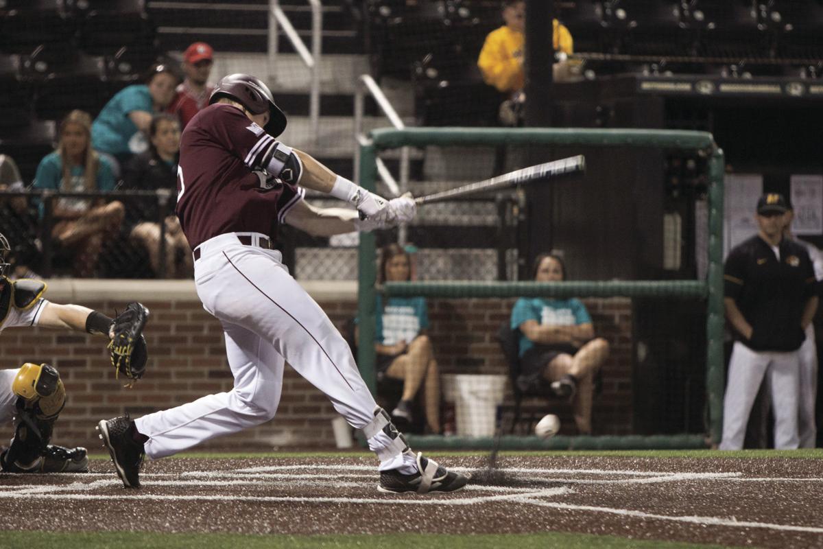 Ben Whetstone swings the bat