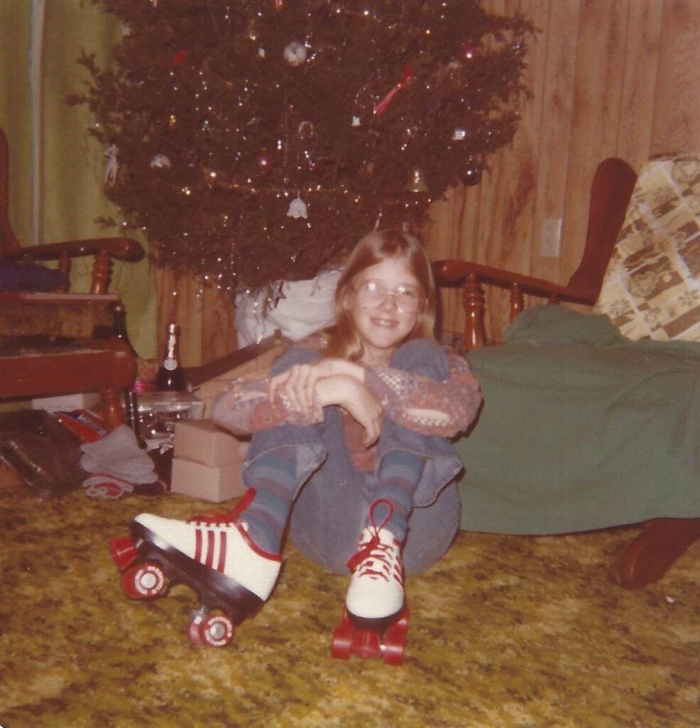 Debbie Beckwith - Roller skating