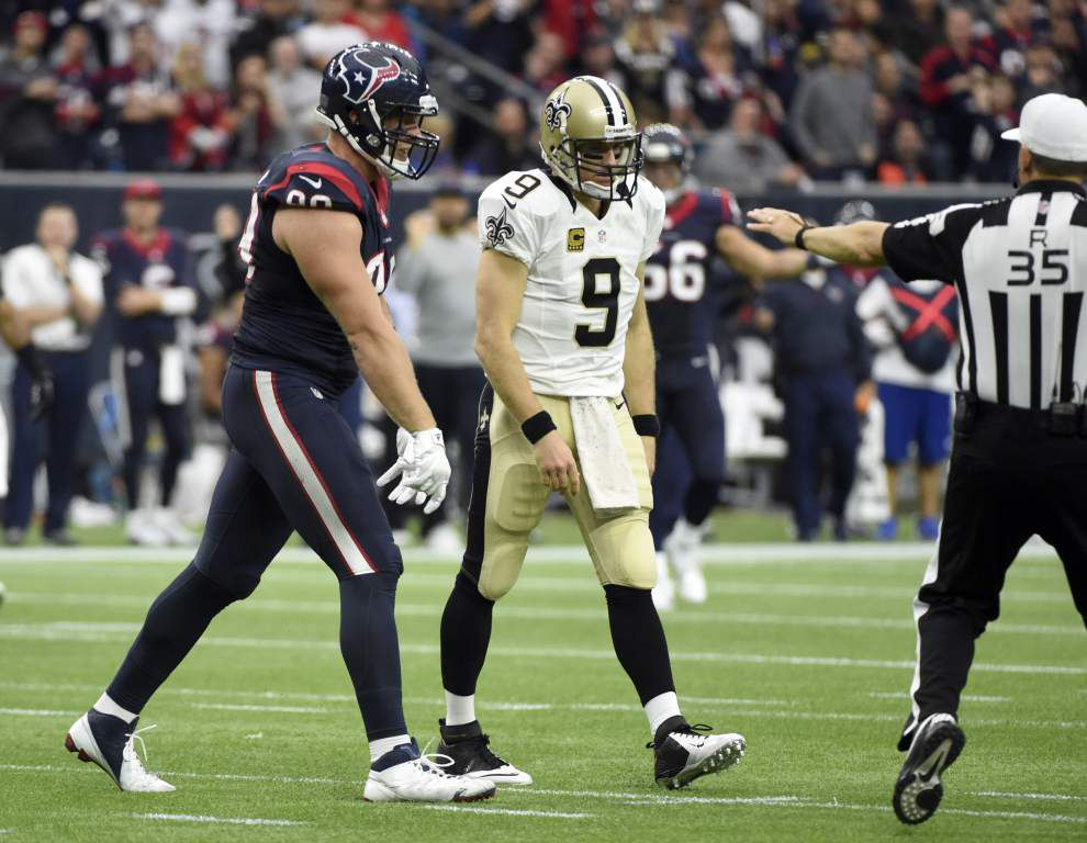 Report card: Despite mistakes, still some positives to take away from Saints defensive performance against Texans _lowres