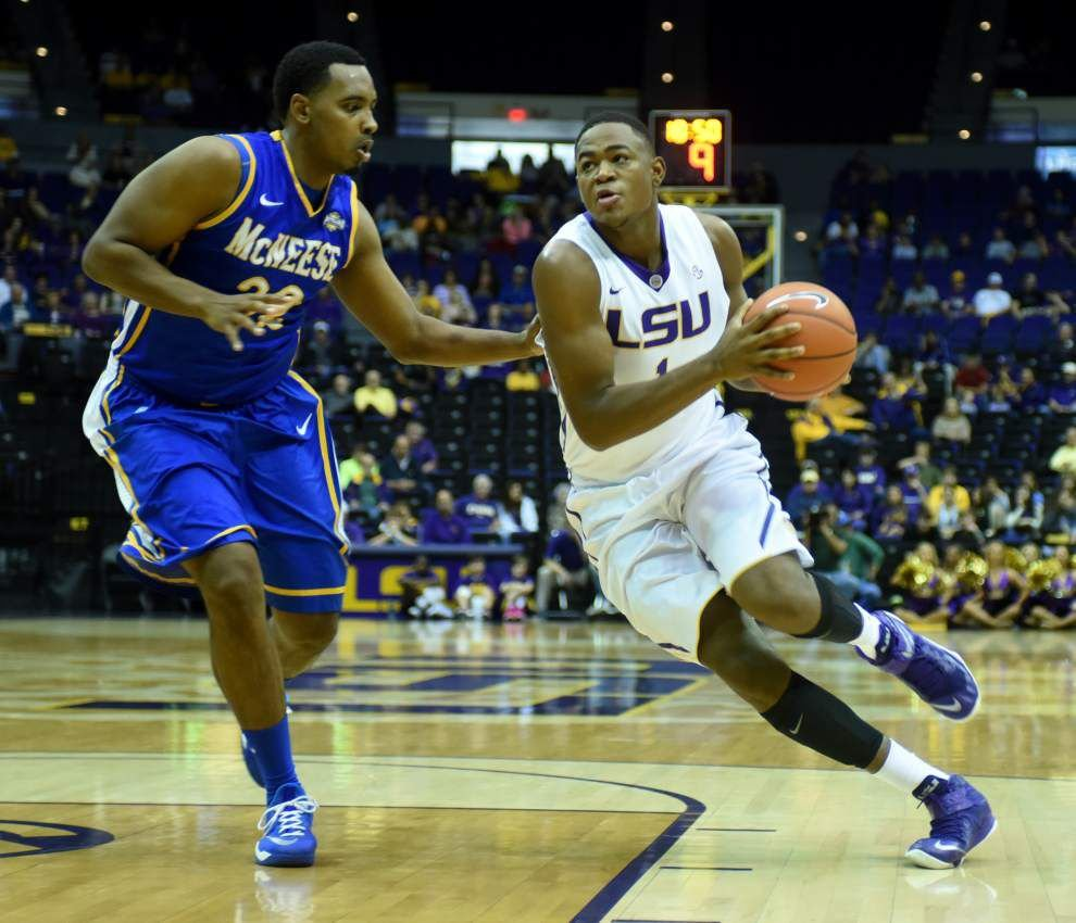 Video: LSU forward Jarell Martin says playing together will be key to dealing with potential adversity at Missouri _lowres
