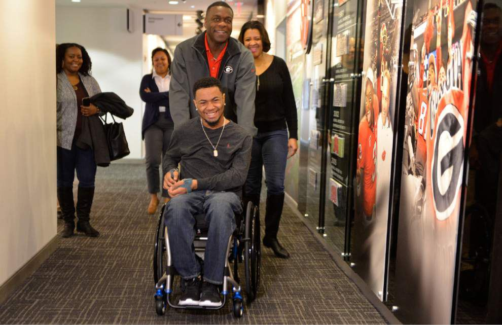 Welcome back: Southern invites the Baton Rouge community to support Devon Gales as he comes home Saturday _lowres