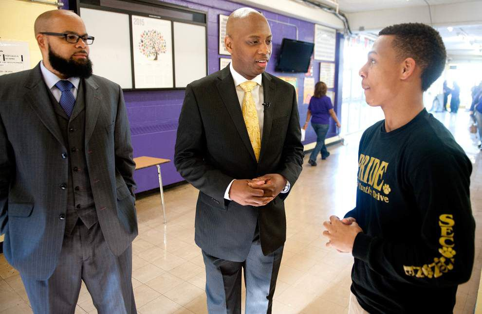 New Orleans Parish School Board superintendent Henderson Lewis spends $31,000 to renovate his office _lowres