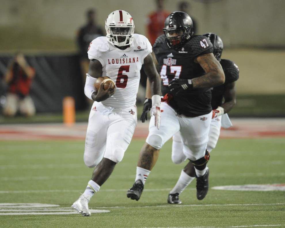 Arkansas State 37, UL-Lafayette 27: Luke Johnson's three and out _lowres