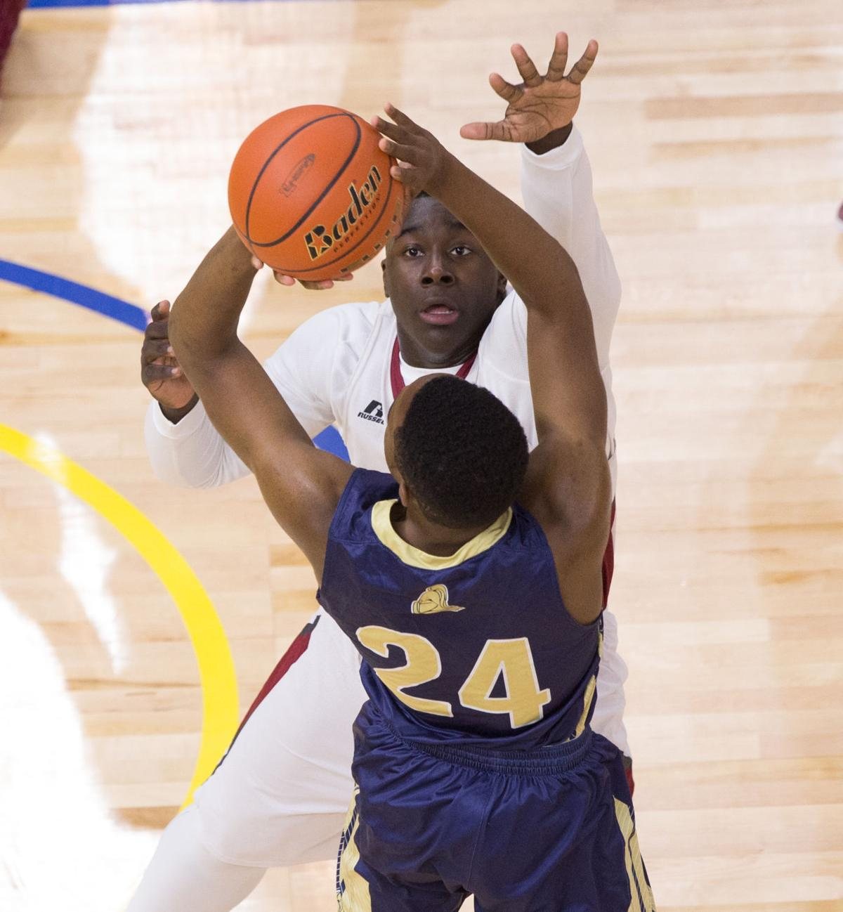 Athletics Tigers Game Suspended In 7th With A S Up 5 3: All's Wright: Dunham Sophomore Jordan Wright Blocks Shot