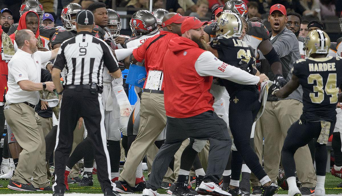 Bucs WR Mike Evans suspended after cheap shot on Saints Marshon