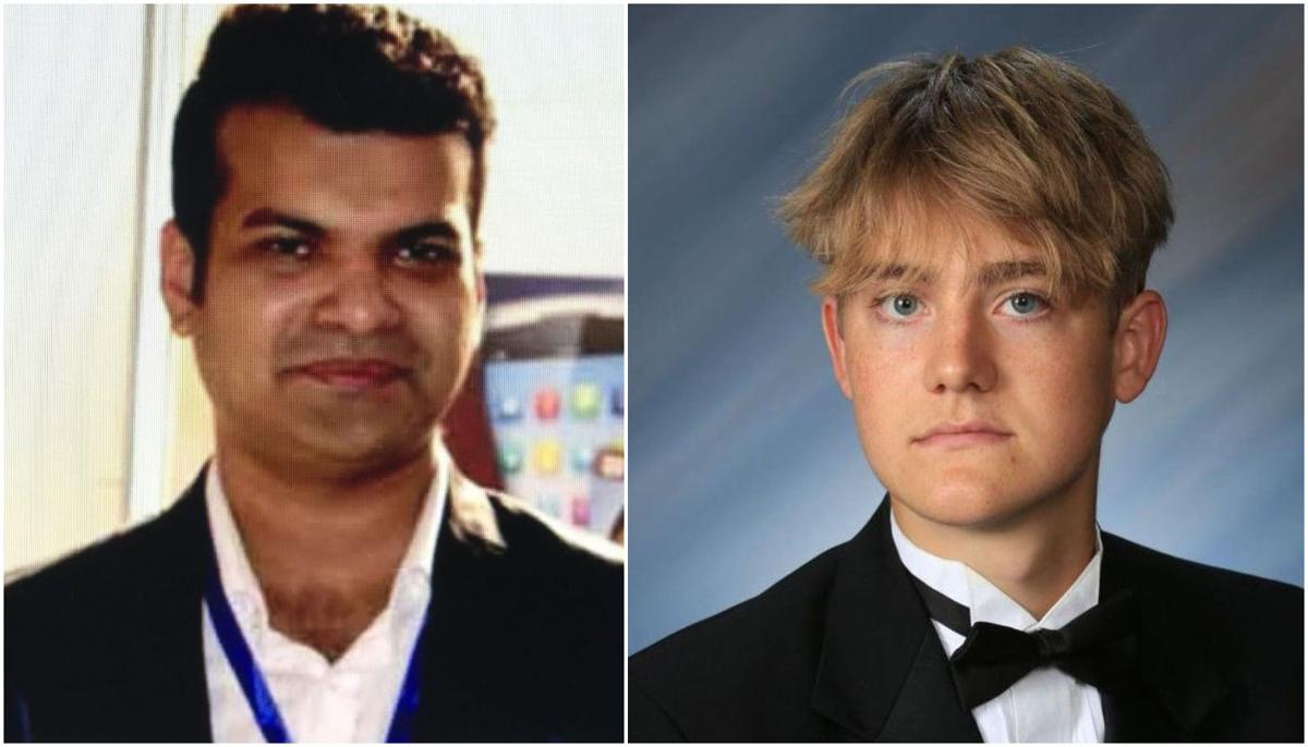 "Md Firoz-Ul-Amin, 29, (left) and Gilgamesh ""Gil"" Homan, 18, (right)"