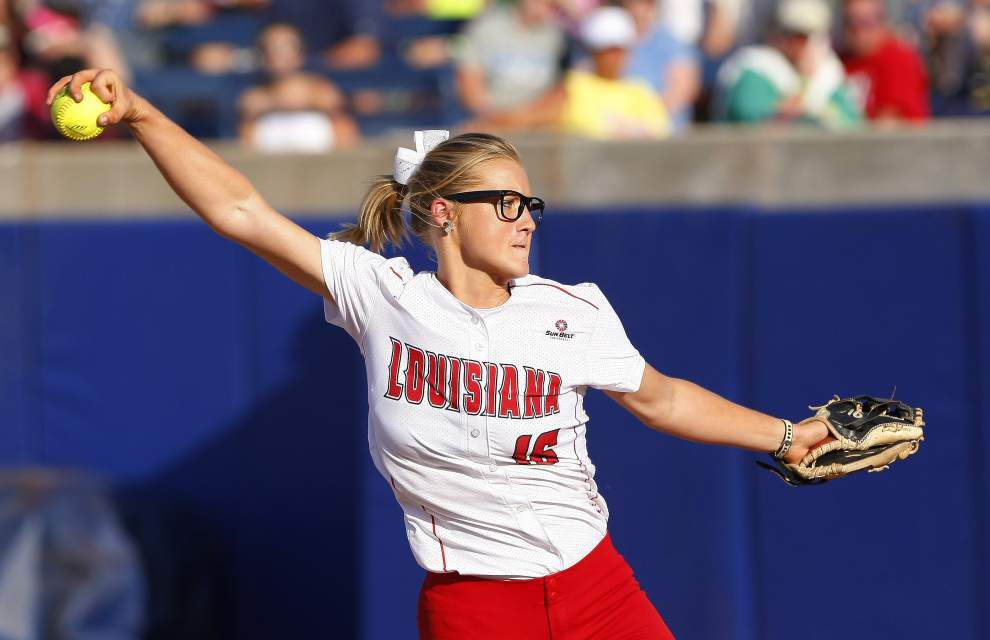 Cajuns softball will adjust pitching as necessary _lowres