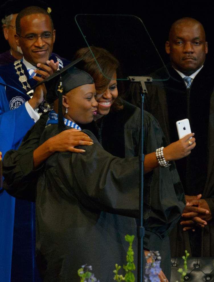 Photos: First Lady Obama speaks at Dillard _lowres
