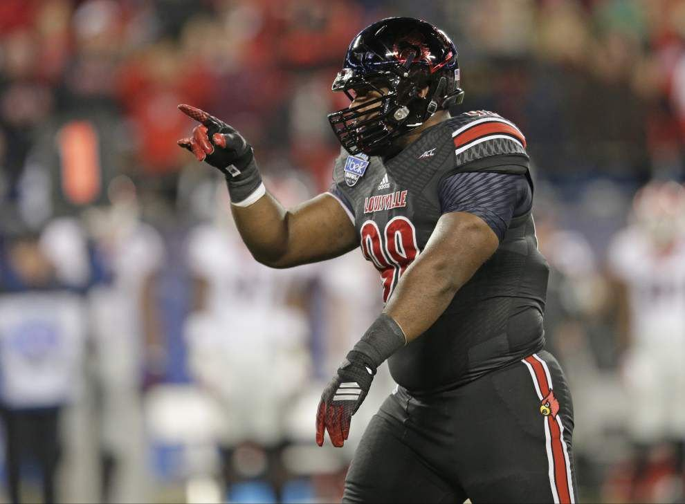 'A dream come true': Louisville defensive tackle Sheldon Rankins the big pick for Saints at No. 12 _lowres