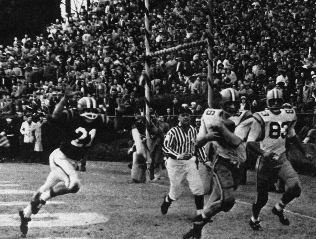 A pass the Lord threw': LSU edges Clemson in 1959 Sugar Bowl to ...