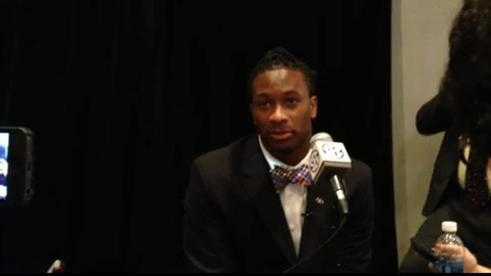Video: Georgia running back Todd Gurley at SEC Media days _lowres