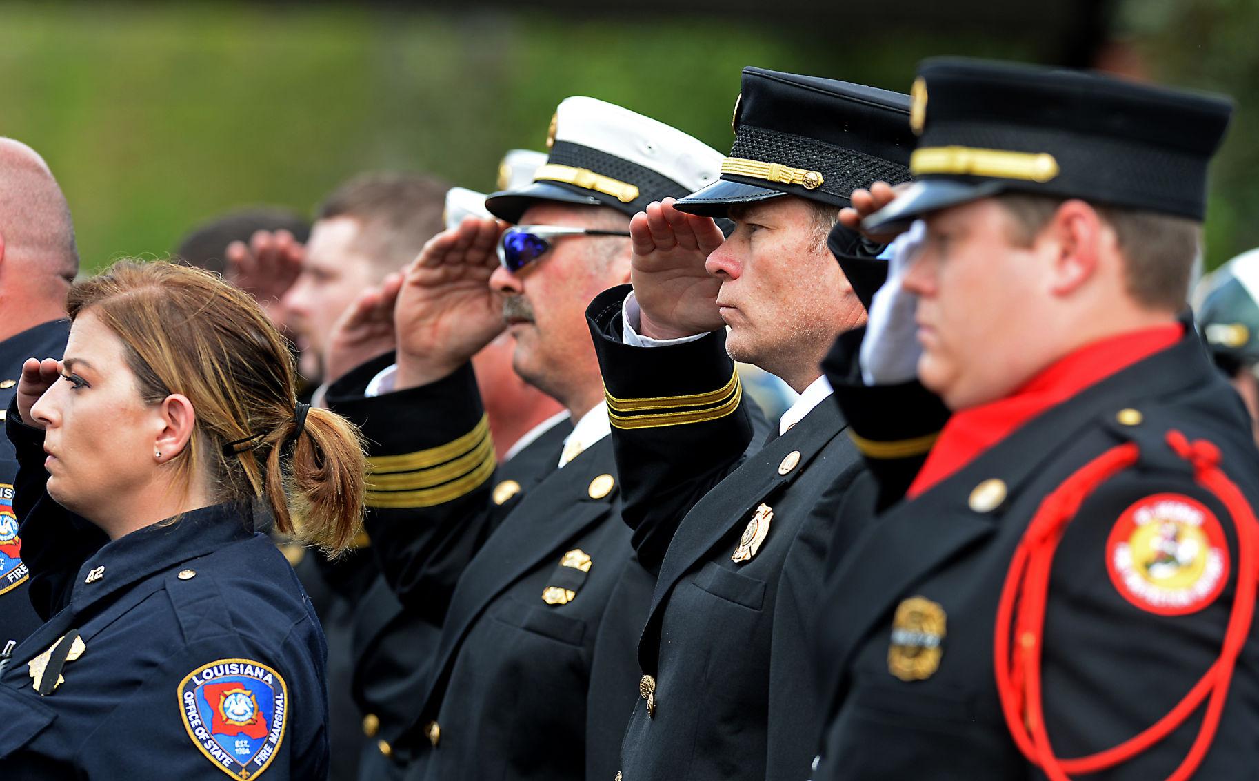 Slain Zachary officer remembered for u0027serviceu0027 u0027braveryu0027
