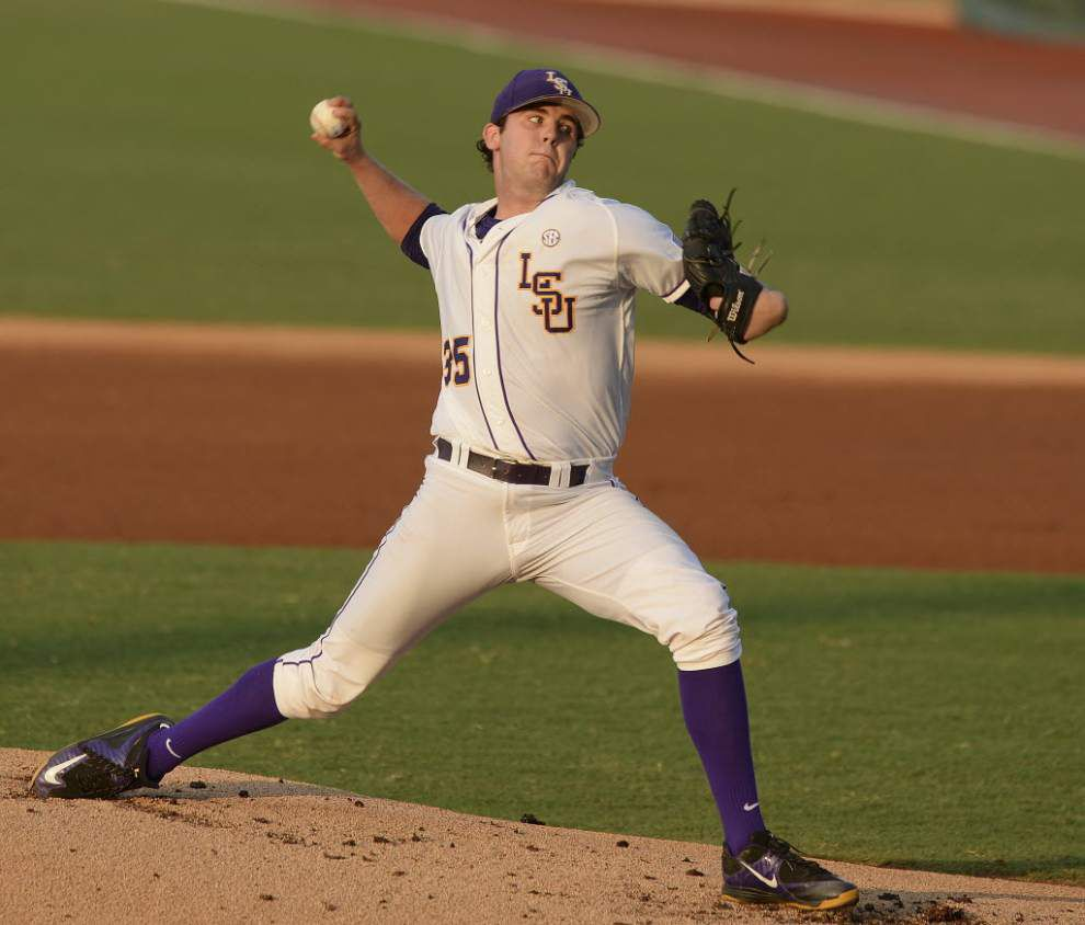 LSU pitchers Alex Lange, Jared Poche named Preseason All-Americans _lowres