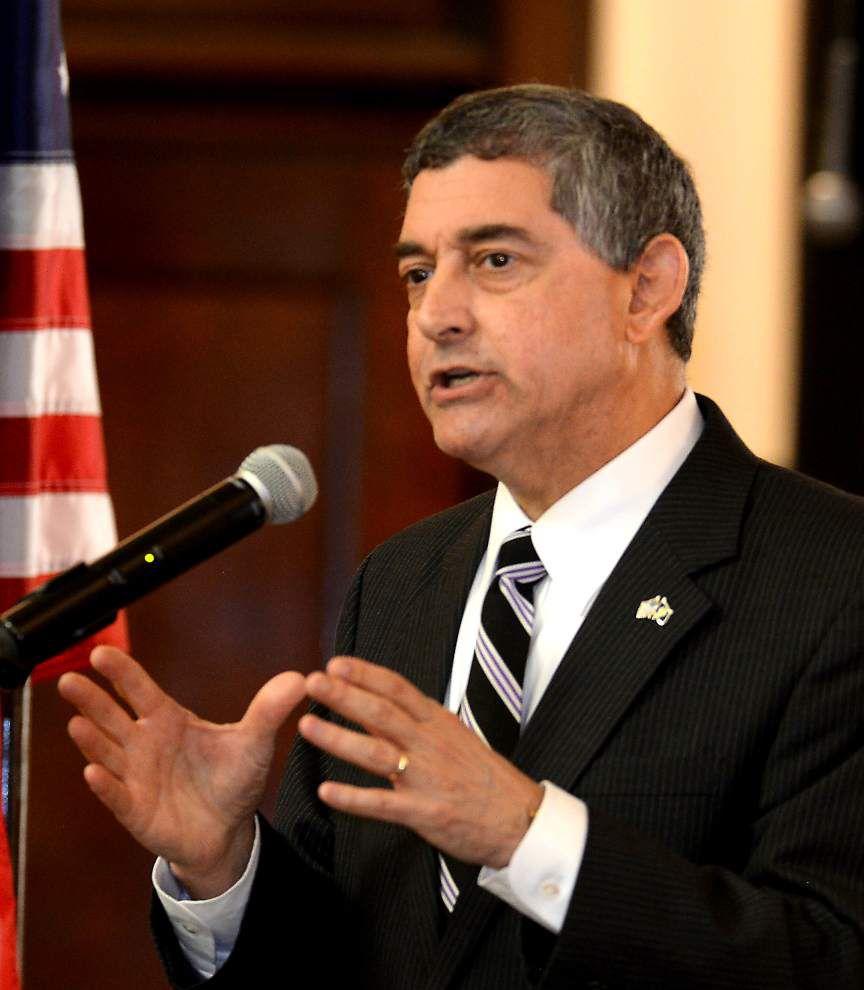 Jay Dardenne talks gubernatorial bid at Southern University _lowres