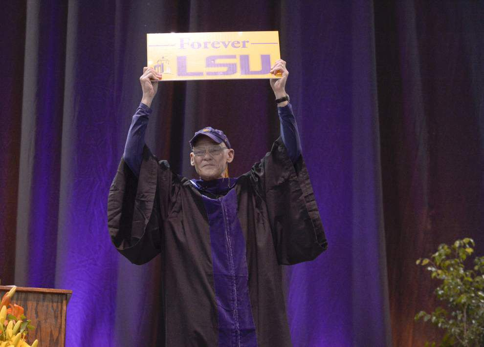 James Carville wants LSU graduates to demand secure funding for higher education, be molders of society _lowres