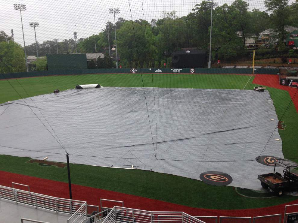 LSU, Georgia baseball series finale canceled; Top 5 clash with A&M looms _lowres