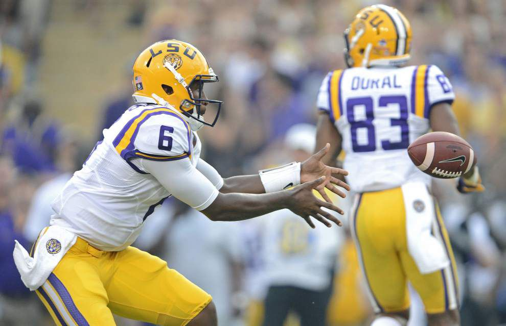 Can LSU stop Mississippi State QB Dak Prescott? It starts with tackling and ends with tackling _lowres