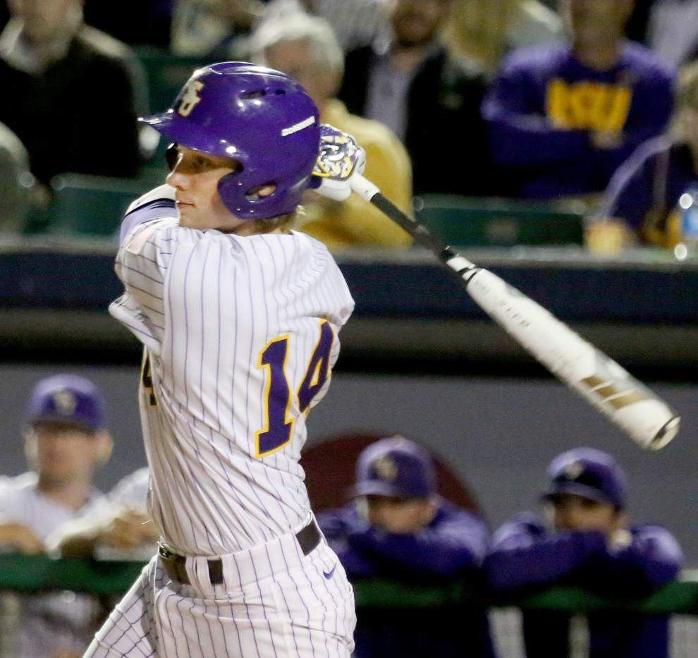 LSU finds some two-out hitting, defeats Louisiana-Lafayette 8-5 in Wally Pontiff Jr. Classic _lowres