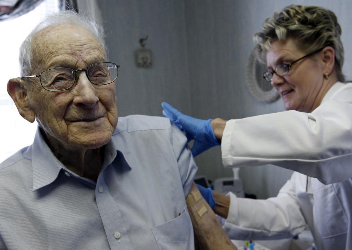 flu shot-elderly