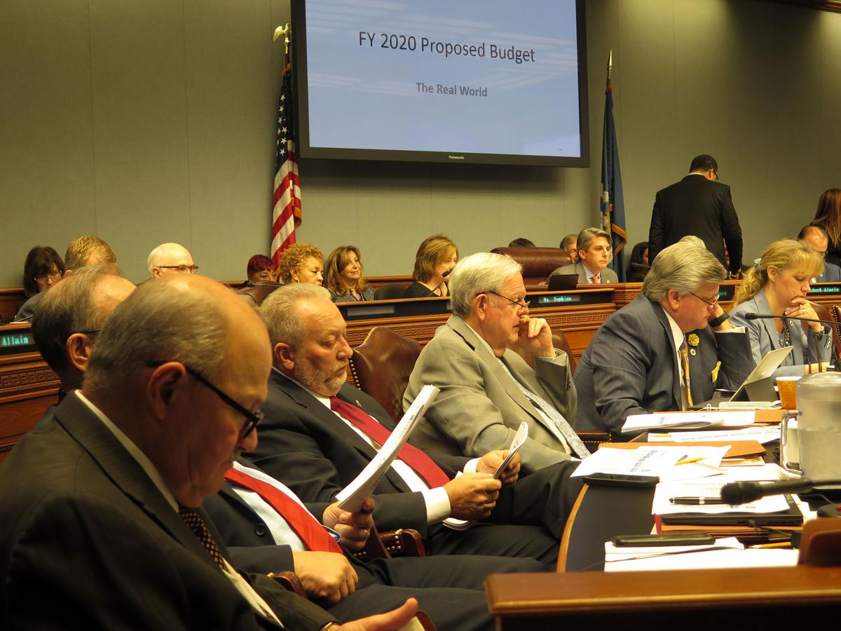 Joint Budget hears the budget presentation 022219