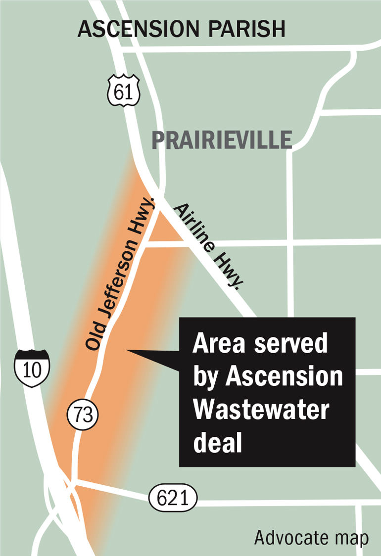 Ascension agrees to major sewer deal for Prairieville area