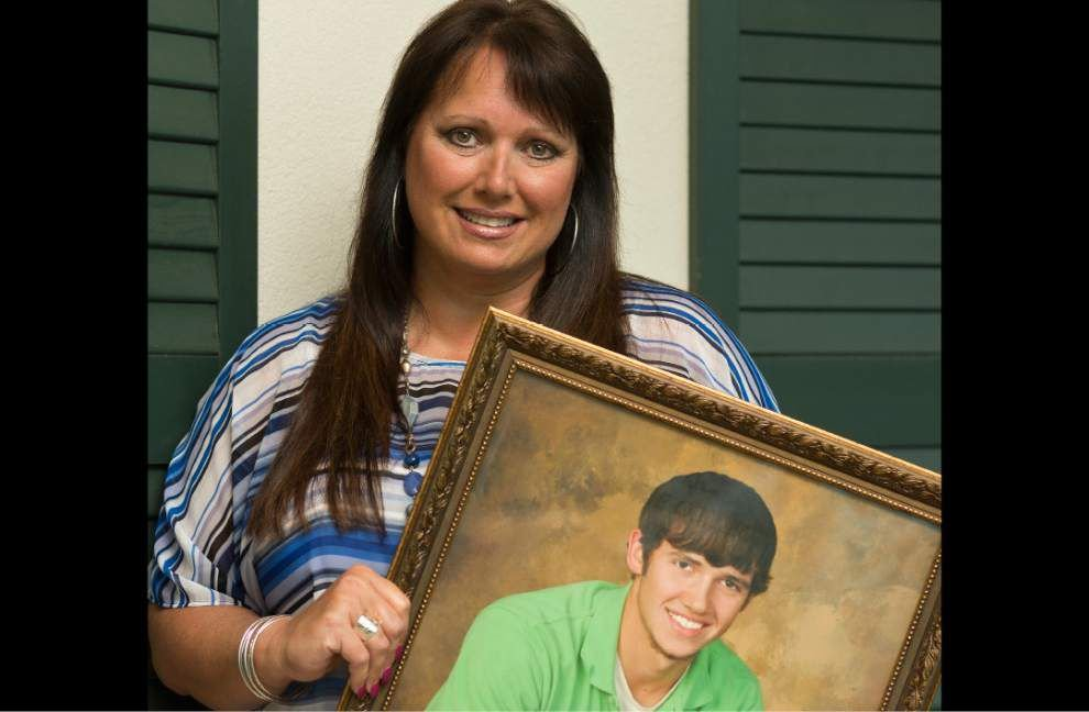 Grieving mom finds solace in writing after son's death _lowres