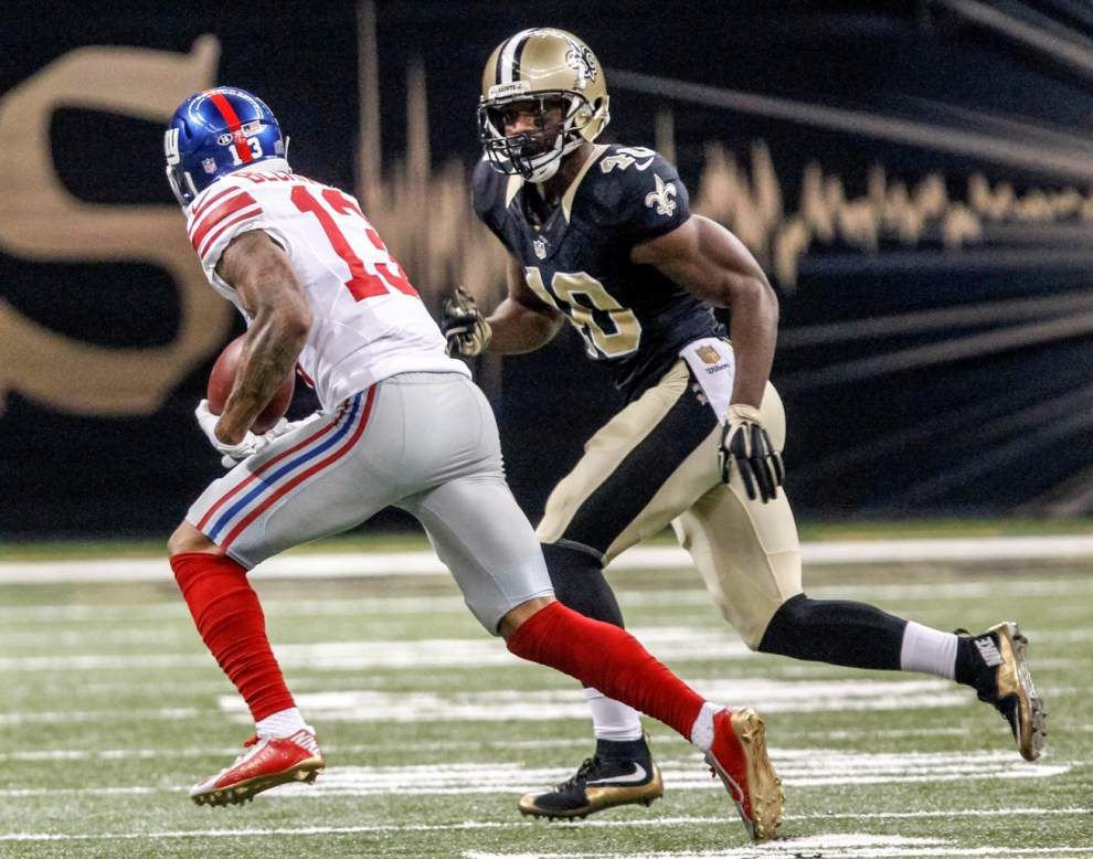 Saints cornerback Delvin Breaux doesn't participate in open portion of practice Friday _lowres