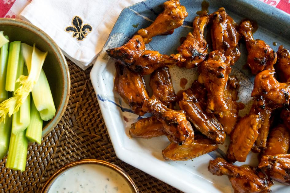Judy Walker's Roux Believer: Super Bowl wings, and a customizable hot and sticky sauce